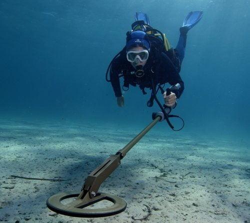 undervands metaldetektor